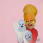 The Sitter, 2012, Oil on canvas, 150 x 120cm